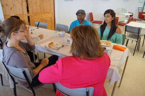 Meeting with Stakeholders in Lockeport, Nova Scotia